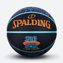 斯伯丁空中大灌篮2橡胶7号篮球84-560y