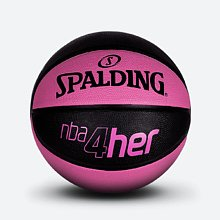 NBA 4Her粉色配色女子橡胶篮球 83-310Y