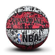 nba涂鸦系列室外橡胶篮球83-574y