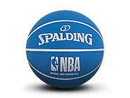 NBA蓝/黑撞色高弹橡胶迷你篮球51-289Y
