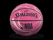 NBA粉色迷彩高弹橡胶迷你篮球51-287Y