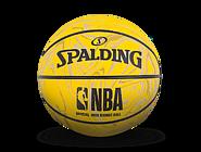 NBA黄色迷彩高弹橡胶迷你篮球51-295Y