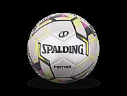 斯伯丁MATRIX系列5号PVC绿粉色室内外足球