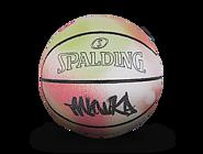 斯伯丁mishka联名款1号篮球