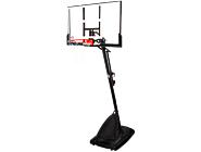 便携式54英寸矩形篮板插销式调节篮球架 66291