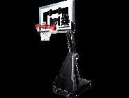 便携式60英寸矩形篮板手摇式螺杆调节篮球架 68562