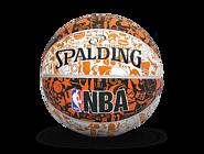 NBA涂鸦系列室外橡胶篮球-RED