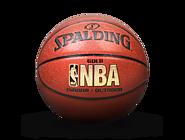 斯伯丁 74-606YC NBA金色LOGO 7号球 专属定制