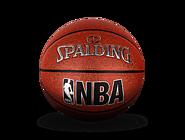 SPALDING官方旗舰店新款JR.NBA室内室外PU篮球74-945y