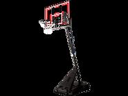 便携式54英寸矩形篮板高级按钮式调节篮球架 75766