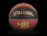 斯伯丁AGC系列室内室外7号棕/黑PU篮球76-649Y
