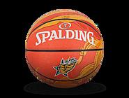 【这就是灌篮第二季同款】斯伯丁这就是灌篮2橘色波浪PU篮球76-645Y