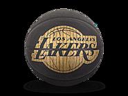 斯伯丁NBA湖人队徽HARDWOODS系列室内室外7号PU篮球76-606Y