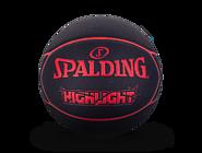 斯伯丁HIGHLIGHT系列PU篮球红色76-868y