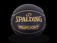 斯伯丁HIGHLIGHT系列PU篮球金色76-869y