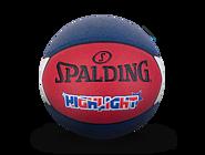 斯伯丁HIGHLIGHT系列PU篮球76-866y