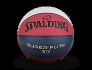 斯伯丁TF超越红白蓝拼色PU篮球76-928y