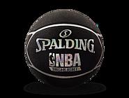 SPALDING官方旗舰店Highlight银色闪光星形表皮橡胶篮球83-497Y