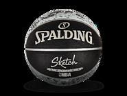 NBA素描系列室外橡胶篮球83-534Y