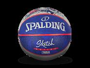 NBA机器人 素描系列 室外橡胶篮球83-677y