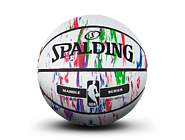 大理石印花彩色室外橡胶篮球83-636y