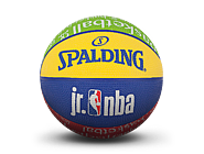 斯伯丁JR.NBA青少年1号室外橡胶篮球84-116Y