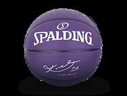 斯伯丁科比签名紫色蛇皮纹7号PU篮球